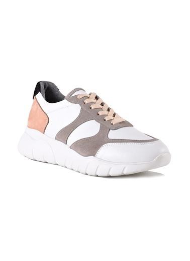Black Noble Ayakkabı Beyaz